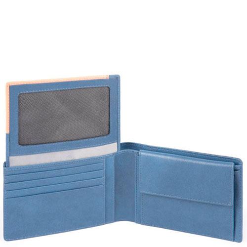 Портмоне Piquadro Blade синего цвета, фото