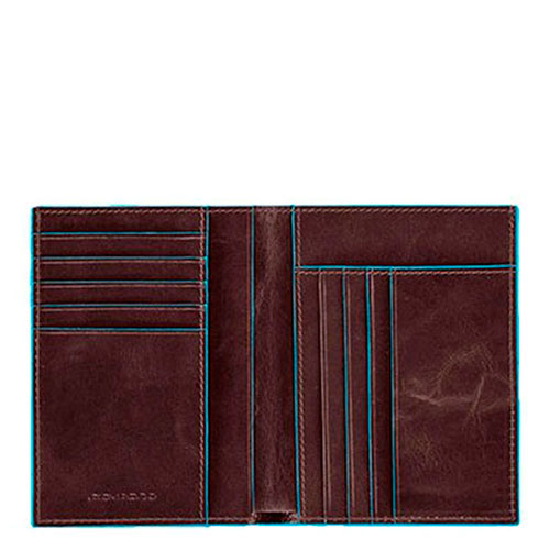 Портмоне Piquadro Bl Square коричневого цвета, фото
