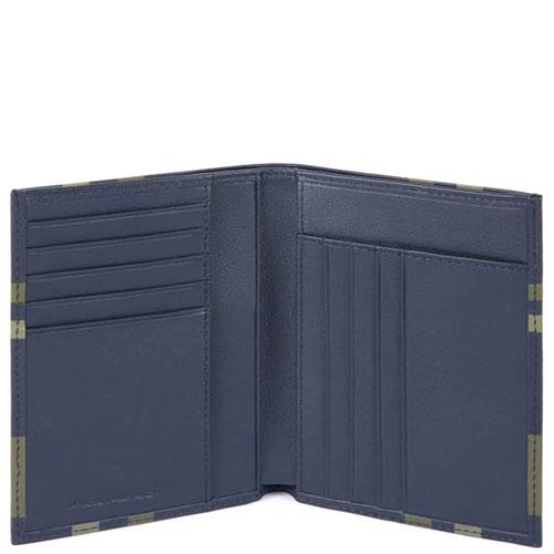 Портмоне Piquadro Tag с отделением для 9 кредитных карт, фото