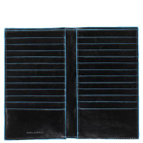 Дорожное портмоне Piquadro для 24 кредитных карт Blue square, фото