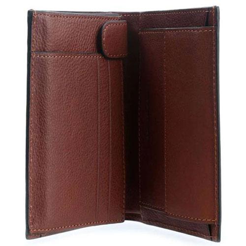 Портмоне Piquadro Bk Square коричневого цвета с RFID защитой , фото