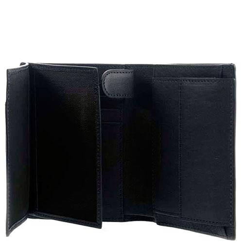 Мужское портмоне Piquadro Brief с отделением для монет и RFID защитой , фото