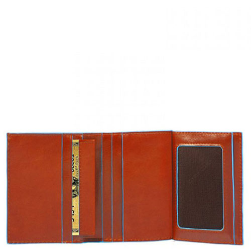Портмоне Piquadro Bl Square для кредитных карт , фото