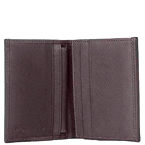 Портмоне Piquadro Pulse коричневого цвета, фото