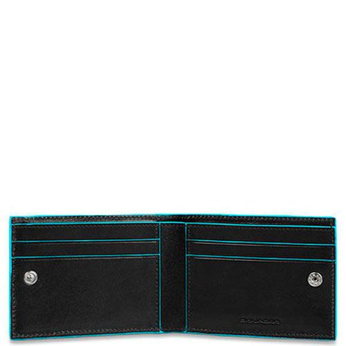 Мужской портмоне Piquadro Bl Square черного цвета, фото
