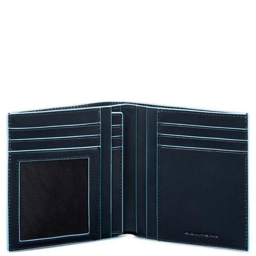 Портмоне Piquadro Bl Square с отделением для 9 кредитных карт, фото