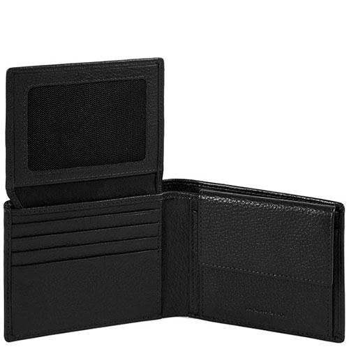 Портмоне Piquadro Modus черного цвета и RFID защитой , фото
