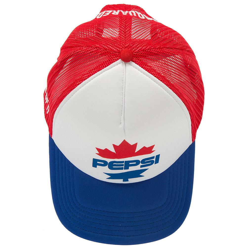 Белая кепка Dsquared2 с логотипом спереди