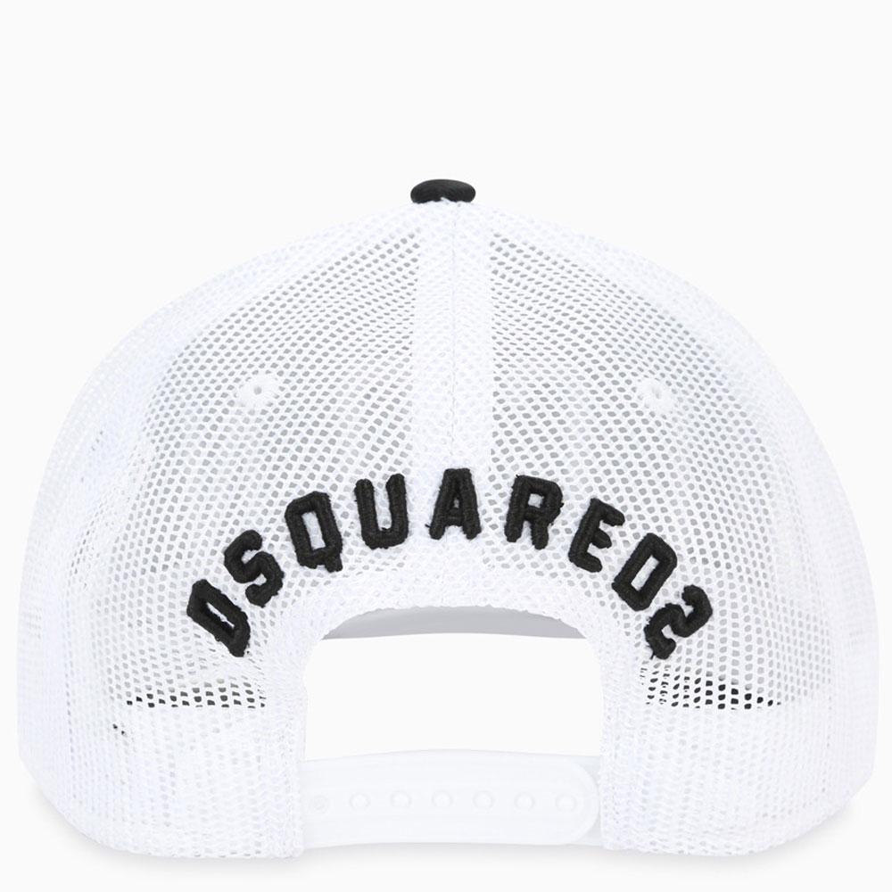 Синяя кепка Dsquared2 Icon с сетчатой вставкой