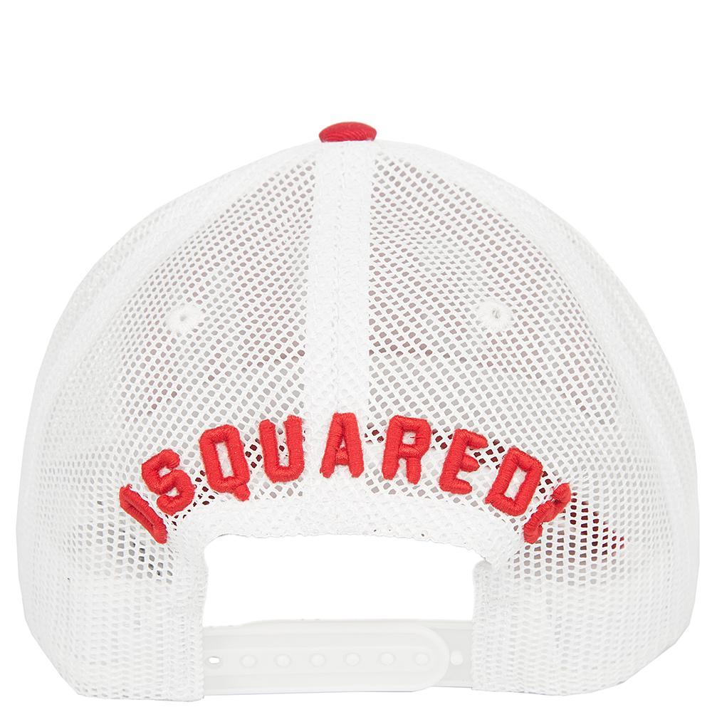 Красная бейсболка Dsquared2