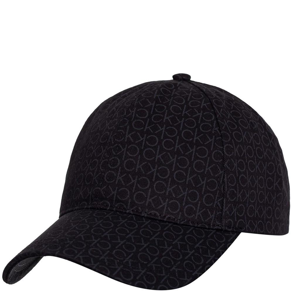 Хлопковая кепка Calvin Klein с монограммой бренда
