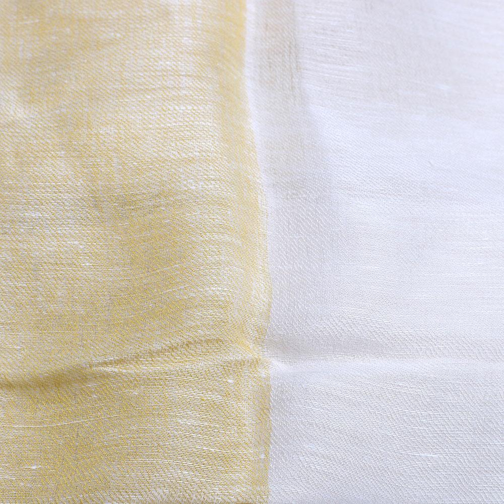 Палантин Fattorseta цвета слоновой кости