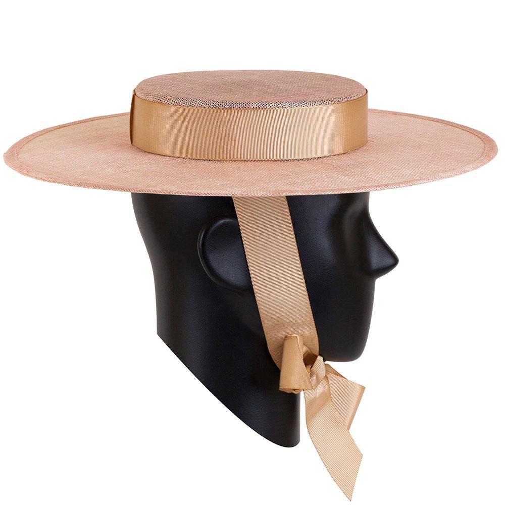 Женская шляпа Shapelie Скарлет розового цвета