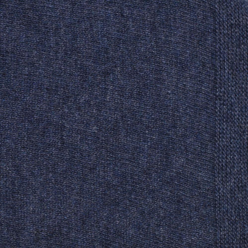 Палантин Fattorseta из шерсти синего цвета