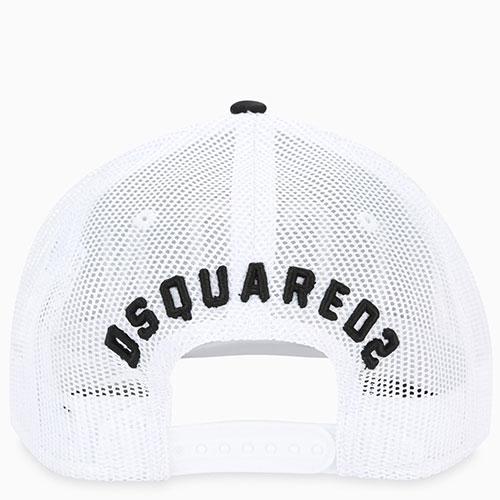 Синяя кепка Dsquared2 Icon с сетчатой вставкой, фото