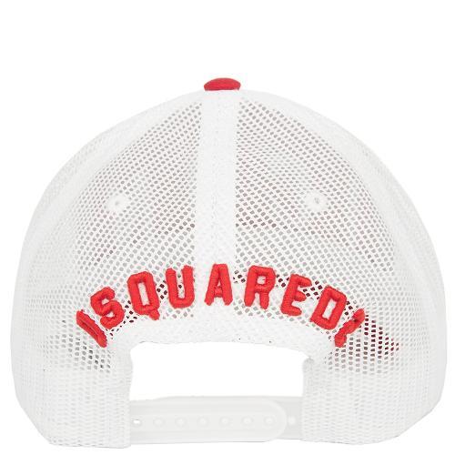 Красная бейсболка Dsquared2, фото