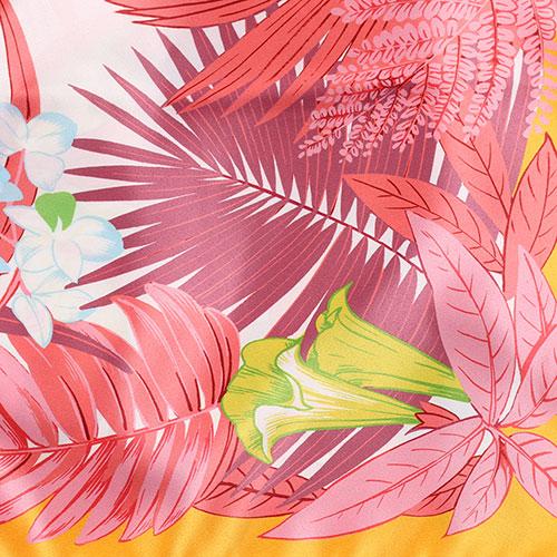 Платок Fattorseta с узором цвета манго, фото