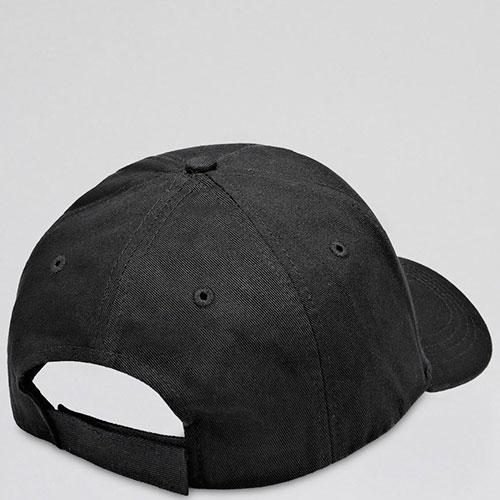 Черная кепка Philipp Plein с металлическим логотипом, фото