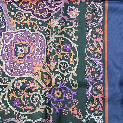 Шелковый платок Fattorseta с цветочным узором, фото