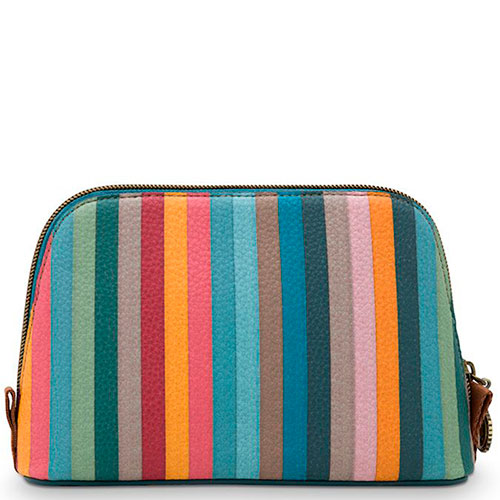 Косметичка Pip Studio Triangle Small Folklore Stripe Multi, фото