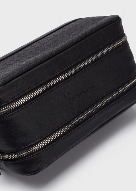 Косметичка Billionaire черного цвета, фото