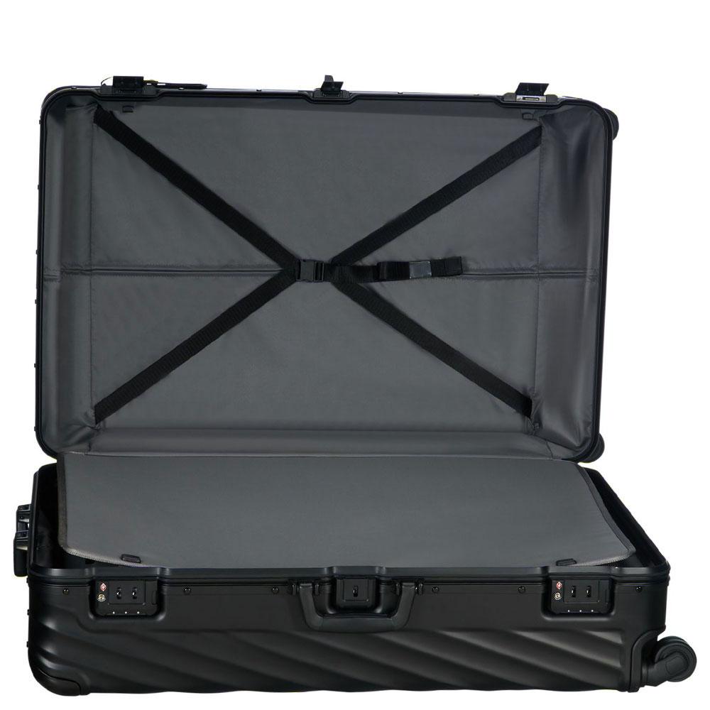 Черный чемодан 86,5х56х32см Tumi 19 Degree Aluminum Matte Black Worldwide