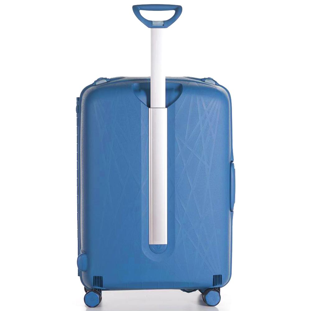 Чемодан синего цвета 68x48x27см Roncato Light с кодовым замком TSA