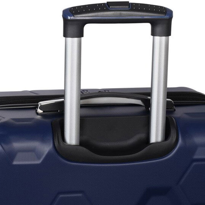 Синий чемодан IT Luggage Hexa Blue Depths 55х35х23см