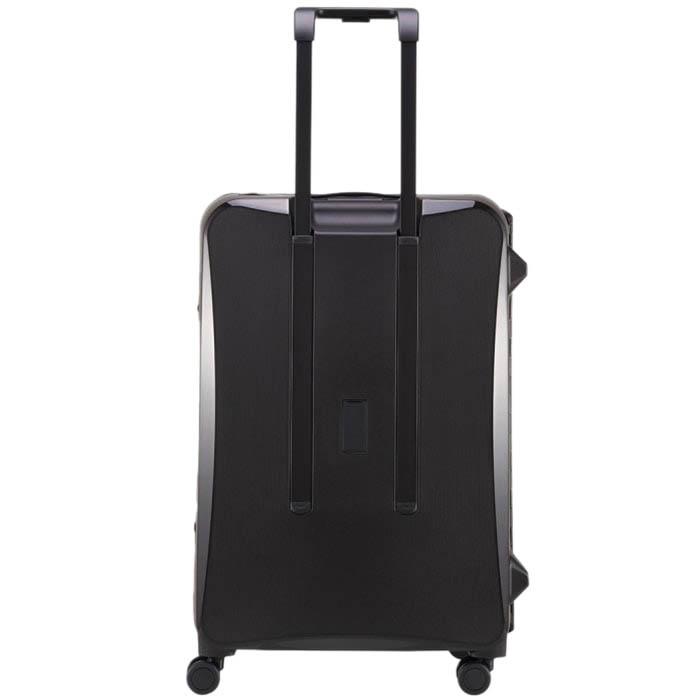 Большой чемодан 51,3х75,4х30,6см Lojel Octa 2 черного цвета с матовым покрытием на колесиках