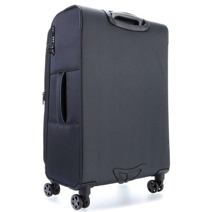 Средний чемодан 42x68x28-32см Titan Nonstop серый