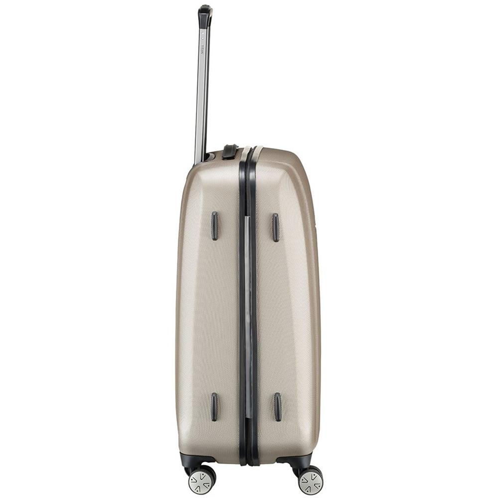 Среднего размера ударопрочный чемодан 67x46x28см Titan Xenon бежевого цвета