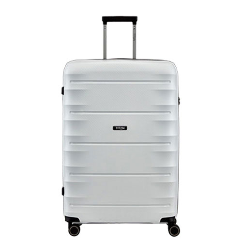 Средний чемодан 46x67x28см Titan Highlight белый
