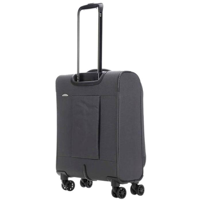 Маленький чемодан 39x55x20см Travelite Arona серого цвета