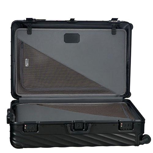 Черный чемодан 86,5х56х32см Tumi 19 Degree Aluminum Matte Black Worldwide, фото