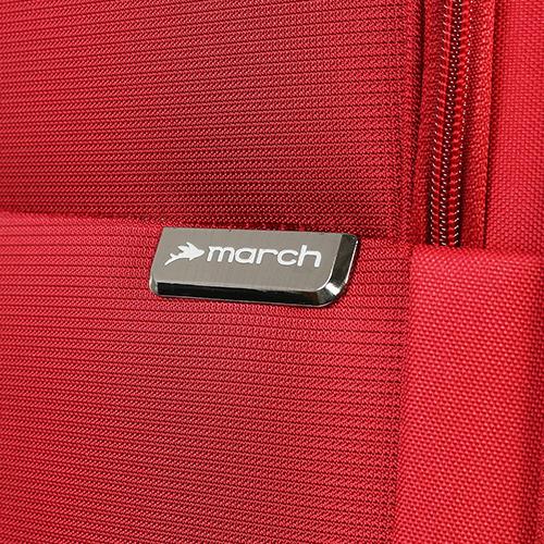 Красный чемодан 77х30х47см March Carter SE большого размера с функцией расширения, фото