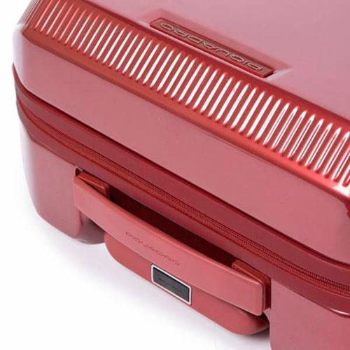 Чемодан Piquadro Cubica 55х40х20см красного цвета, фото