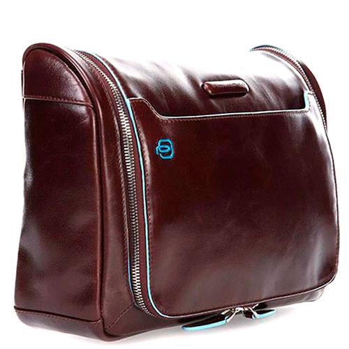 Несессер Piquadro Blue Square 20х30х12см коричневого цвета, фото