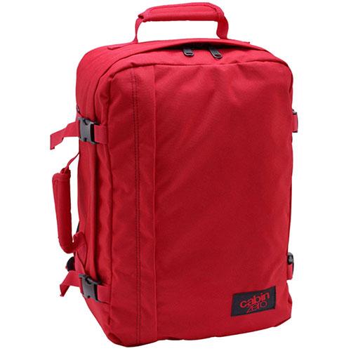 Сумка-рюкзак CabinZero красного цвета 36л, фото