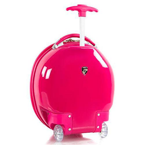 Детский розовый чемодан Heys Dreamworks Trolls маленький, фото