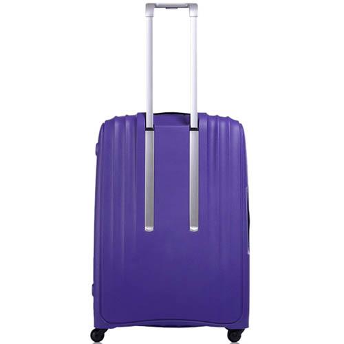 Большой чемодан 49х71х29,2см Lojel Streamline фиолетового цвета с выдвижной ручкой, фото