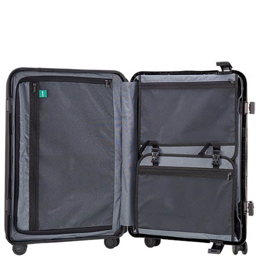 Оранжевый чемодан 43,6x64,8x26,8см Lojel Octa 2 с матовым покрытием среднего размера, фото