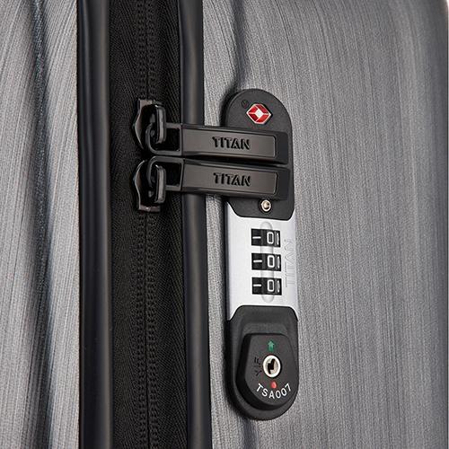 Маленький чемодан 54х39x20см Titan Triport с кодовой блокировкой TSA, фото