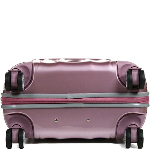 Чемодан 40x55x20см Titan Spotlight Flash розового цвета, фото