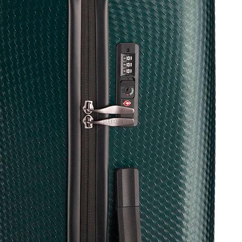Чемодан на колесах Travelite Skywalk зеленого цвета 50x76x31см, фото