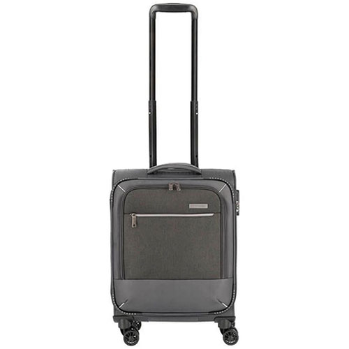 Маленький чемодан 39x55x20см Travelite Arona серого цвета, фото
