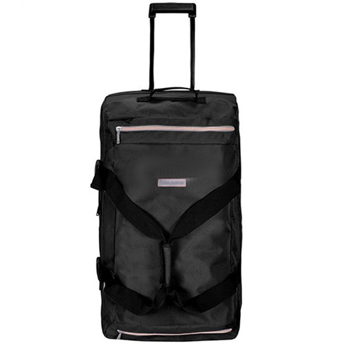 Дорожная сумка на колесах 78x40x30см Travelite Basics черного цвета, фото