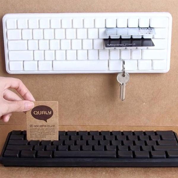 Держатель ключей и мелких предметов Qualy Keys Board