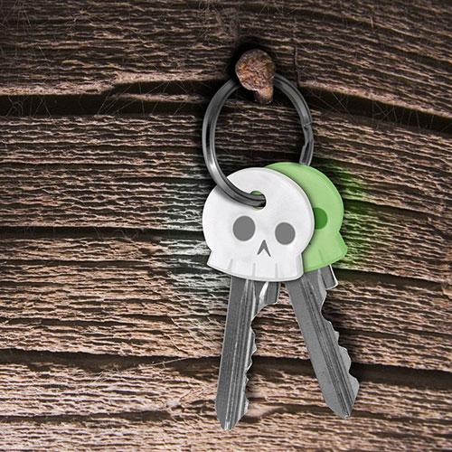 Колпачки для ключей Fred and Friends 6шт, фото